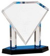 ACRYLIC FLOATING DIAMOND AWARD - ACR Floating Diamond Award