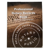 NRB-HC - Deluxe Professional Notary Records Book&trade;<br>(Hard Cover) (ALL 50 STATES)