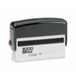 2000 Plus Printer 15, This rubber stamp is most often used as a long one line stamp since it can easily fit 1/4 inch characters.  It can fit up to three lines of very small type.